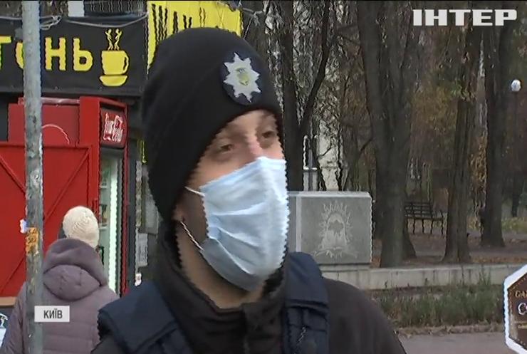 Поліція Києва виходить у рейди на антимасочників у транспорті