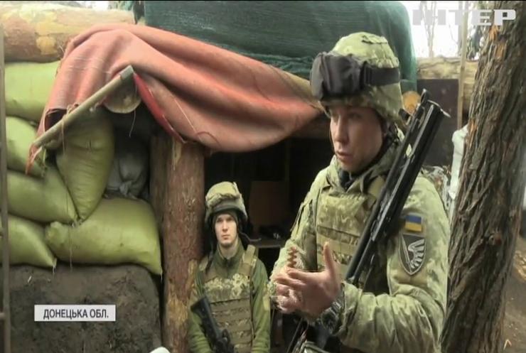 На околицях Донецька фіксують снайперську активність