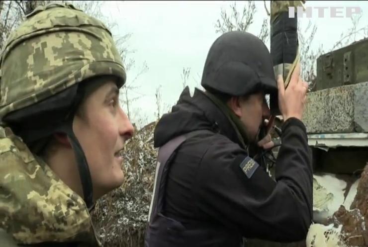 Бойовики тричі порушили перемир'я на Донбасі