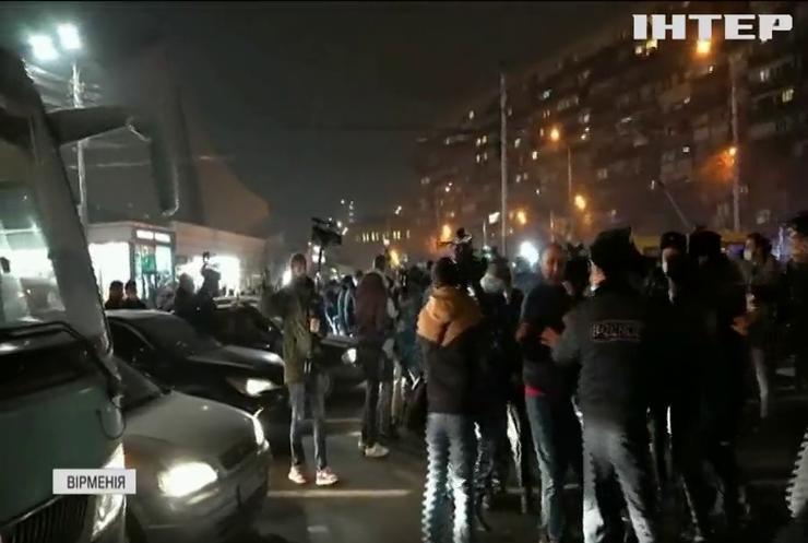 Вірменію сколихнула нова хвиля антиурядових протестів