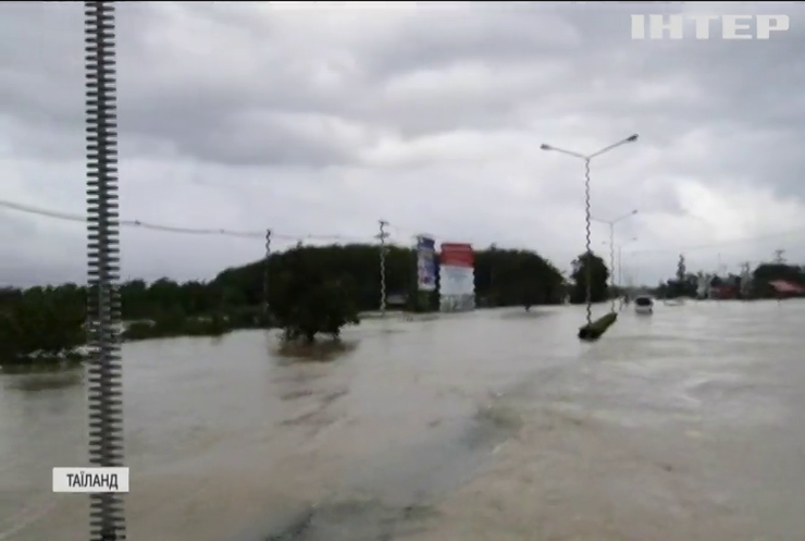 Дев'ятеро людей стали жертвами масштабних повеней у Таїланді