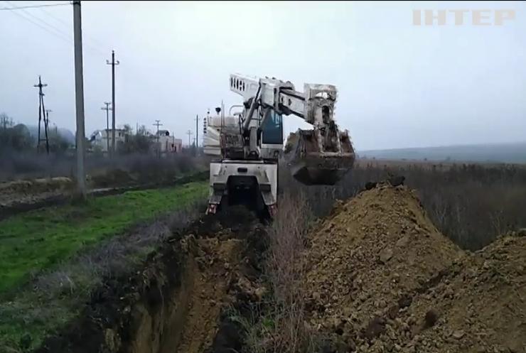 На кордоні з Молдовою знайшли спиртопровід