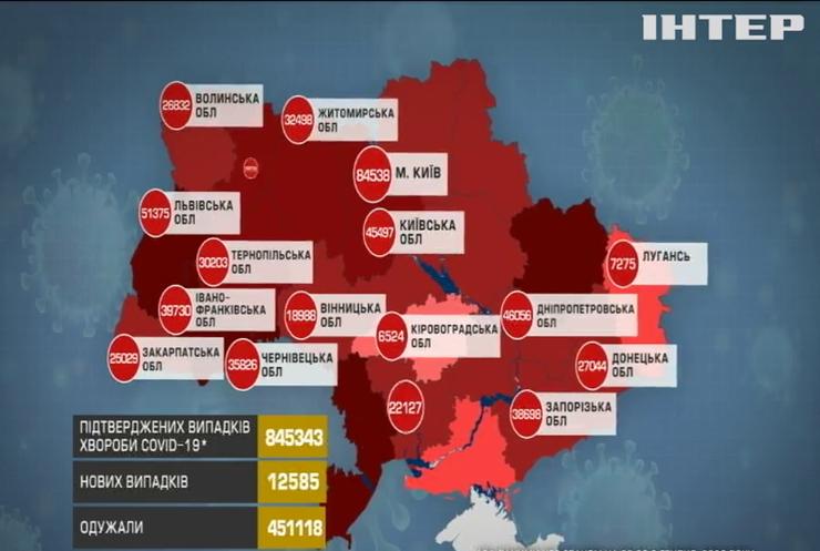 В Україні зафіксували антирекорд за кількість смертей від коронавірусу