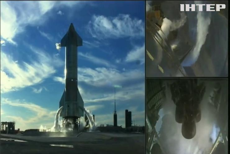 SpaceX скасувала запуск космічного корабля Starship за одну секунду до старту