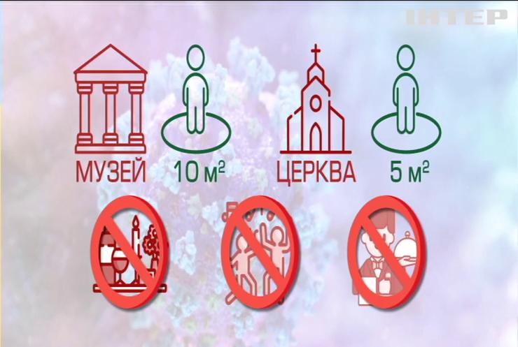 Кабмін планує розширити перелік карантинних обмежень в Україні