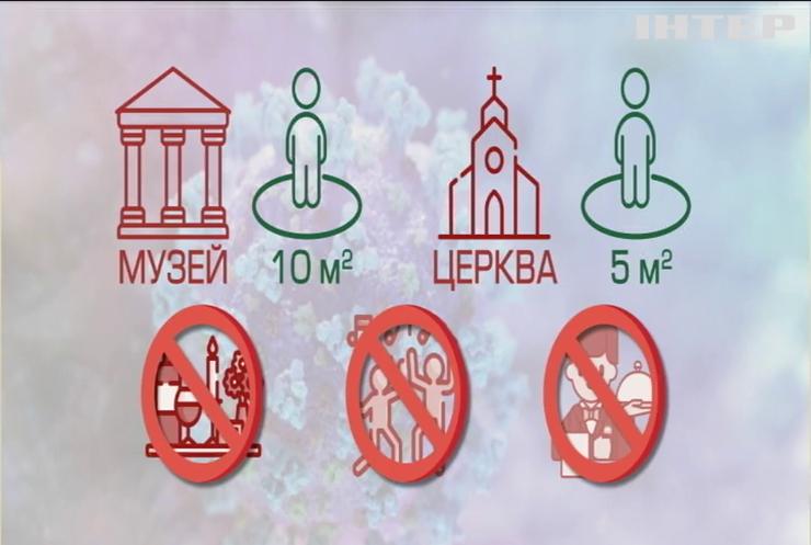 Кабмін запровадив нові карантинні обмеження в Україні