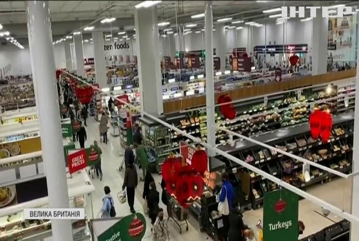 Британія залишається без товарів з Європи