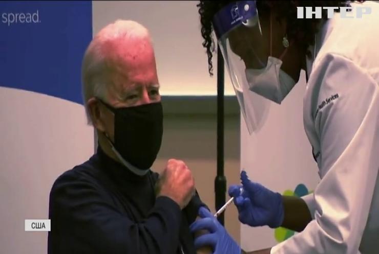 Джо Байден обіцяє прискорити виробництво вакцин проти COVID-19