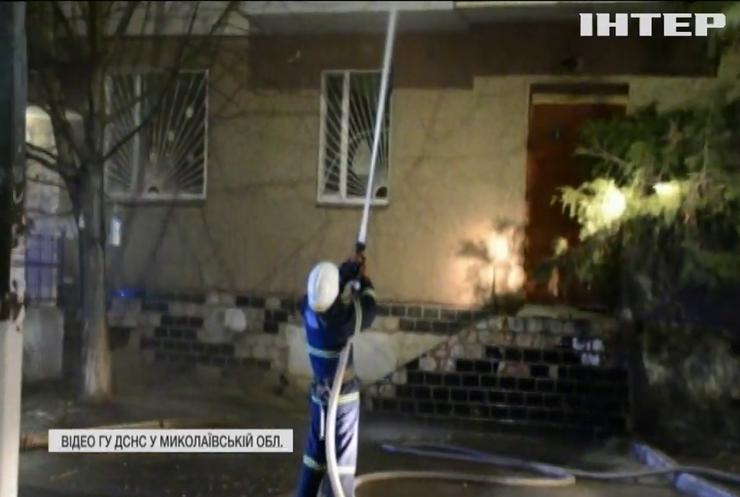 У Миколаєві в новорічну ніч на балкон багатоповерхівки залетів феєрверк