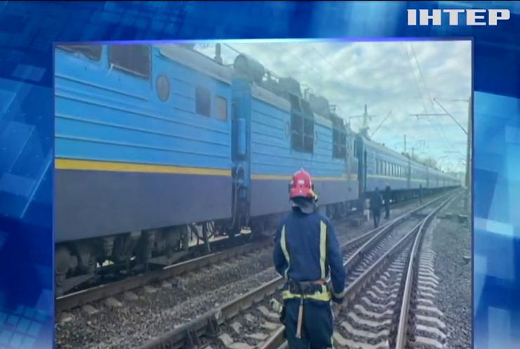 На Рівненщині під час руху загорівся пасажирський електропотяг