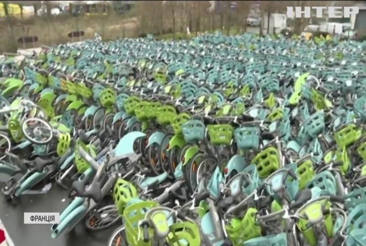 У Франції запроваджують обов'язкову реєстрацію велосипедів
