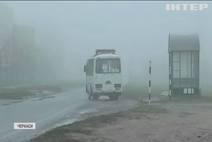 Пекельна дорога: у Черкасах водії маршруток відмовилися їздити по одній з міських вулиць