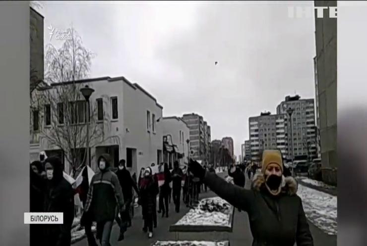 Протести у Білорусі завершились традиційними затриманнями
