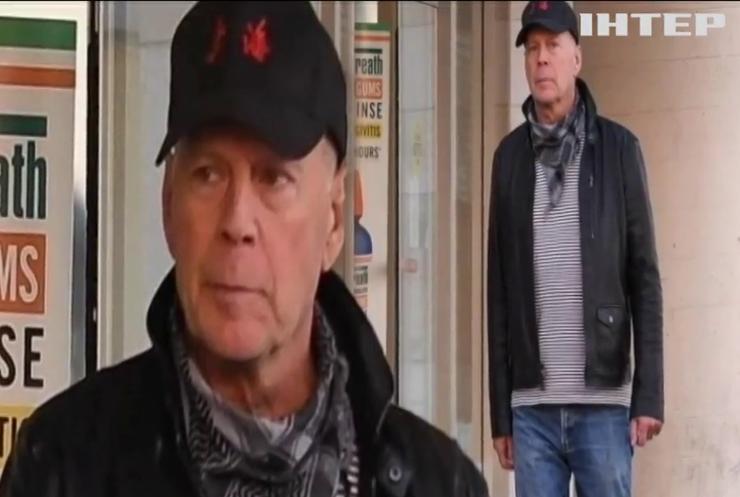 """""""Міцний горішок"""" проти карантину: Брюса Вілліса вигнали з аптеки у Лос-Анджелесі"""