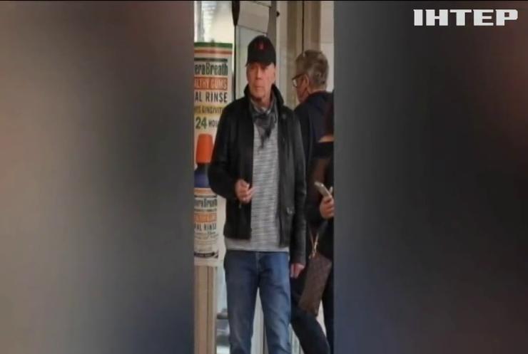 Американського актора Брюса Вілліса вигнали з аптеки у Лос-Анджелесі