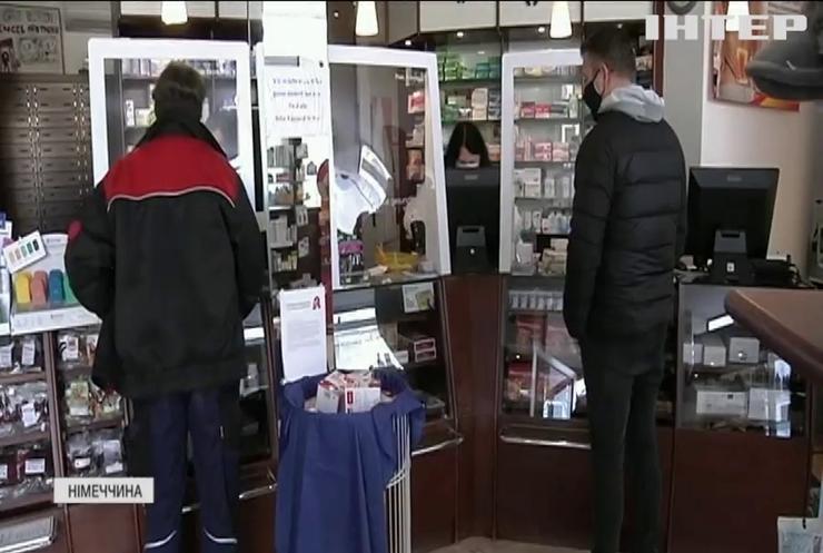 Посилення карантину: у Німеччині запроваджують мегалокдаун
