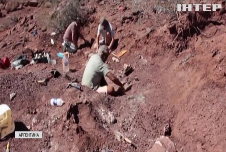 В Аргентині досліджують кістки гігантського динозавра