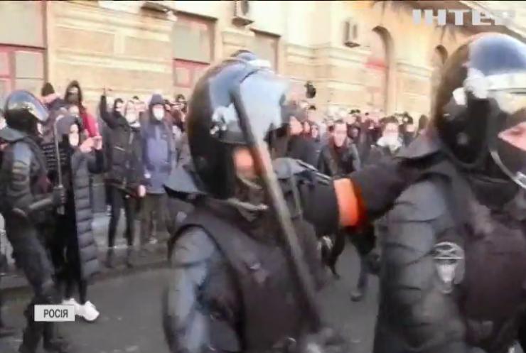 Росію сколихнула потужна хвиля антиурядових протестів