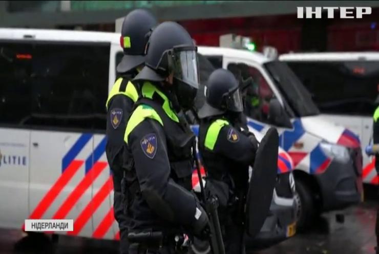 У Нідерландах спалили пункт тестування на COVID-19
