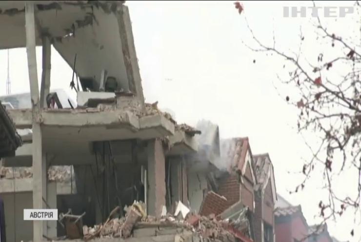 На околиці Відня вибухнув житловий будинок