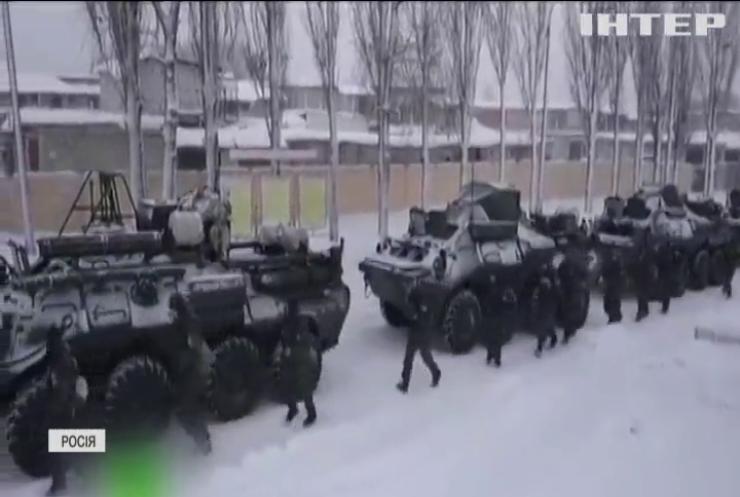 Армія Росії розпочала навчання біля кордону України