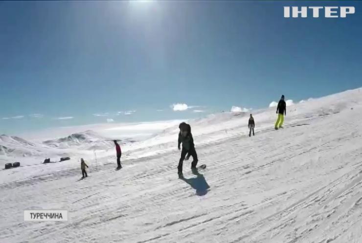 Гірськолижний курорт Туреччини запрошує у гості українських туристів