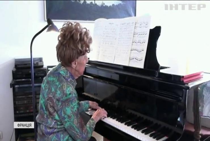 Піаністка записала класичний альбом у віці 106 років