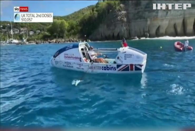 На човні через океан: 70-річний британець встановив новий світовий рекорд
