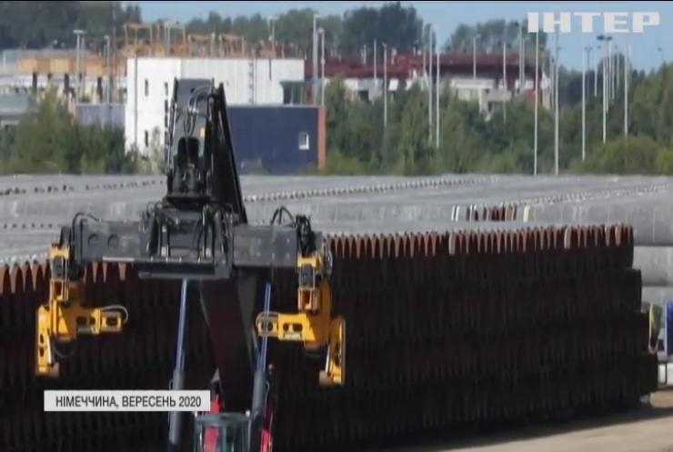 """Німеччина та США обговорять """"Північний поток-2"""""""