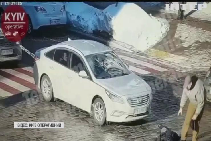У Києві розлючений водій вбив пішохода