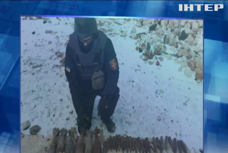 На Донбасі за тиждень сапери знешкодили півтори тисячі снарядів