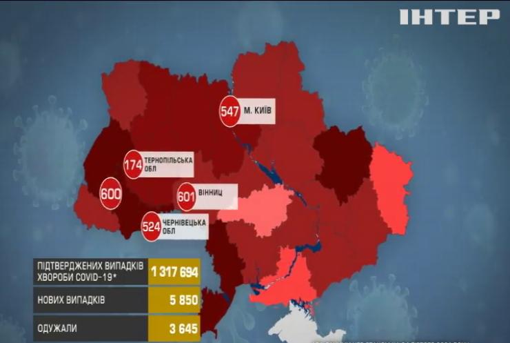 Коронавірус за добу забрав життя 152 українців