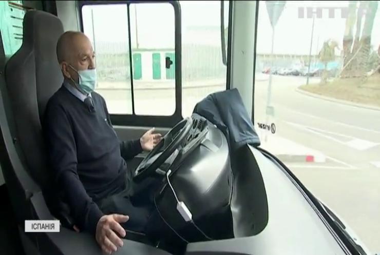 Іспанці запустили безкоштовний безпілотний автобус