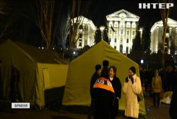 У Вірменії на протестах закликають прем'єра до відставки