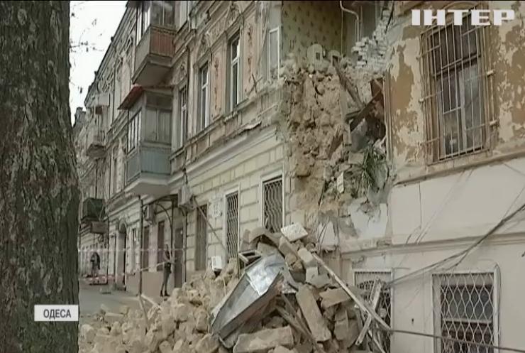 """Обвал будинку в Одесі: в """"Опозиційній платформі - За життя"""" вимагають розслідувати розподіл коштів місцевого бюджету на утримання нерухомості"""