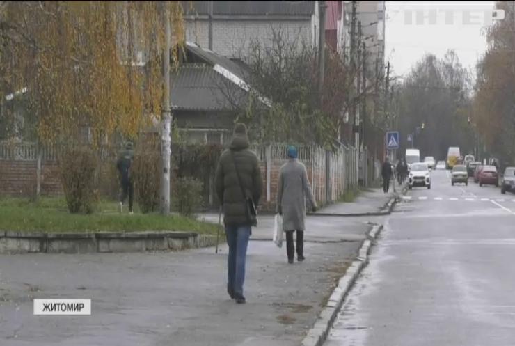 """Житомирщина стала """"червоною"""" зоною"""