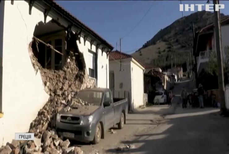 Землетрус у Греції: люди в паніці вибігали із власних осель