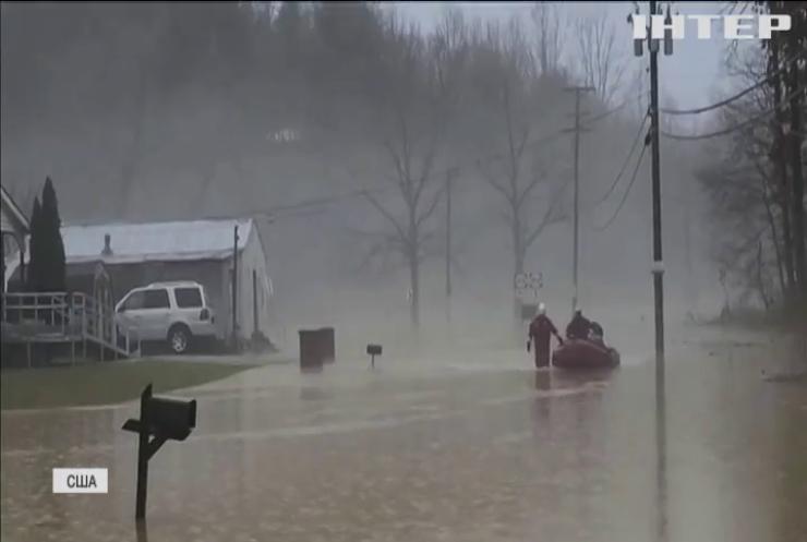 Потужна повінь знесла гігантський причал у штаті Кентукі
