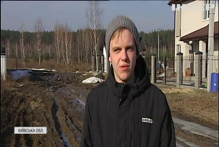 20 років без асфальту: село Блиставиця на Київщині потопає у багнюці