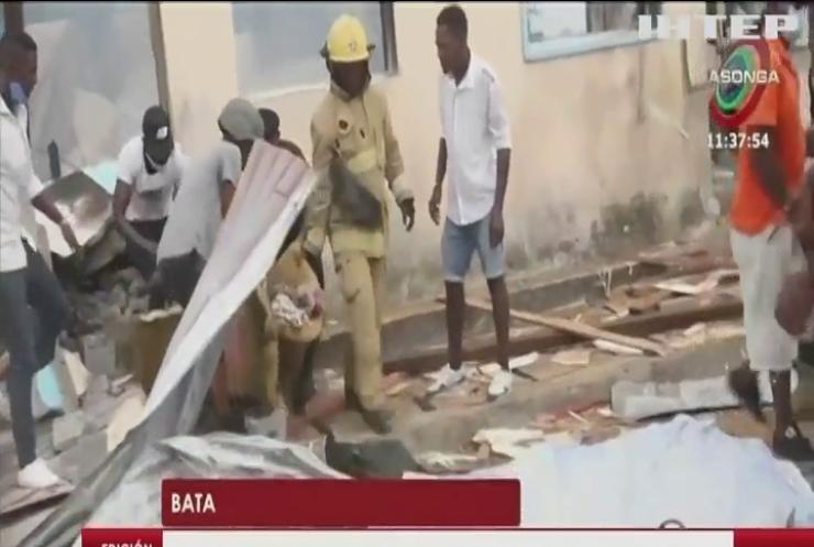 У Екваторіальній Гвінеї розслідують обставини потужних вибухів на військовій базі