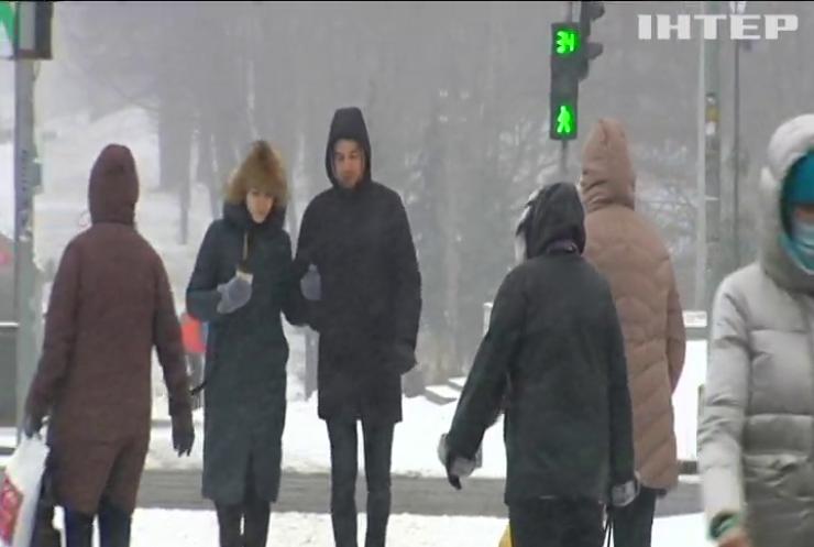 У Києві через негоду оголосили штормове попередження