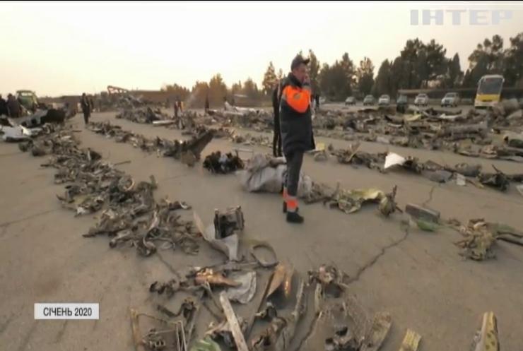 Результати розслідування катастрофи українського літака в Ірані стривожили міжнародну спільноту
