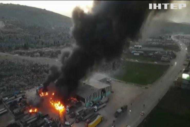 У Сирії росіяни поцілили у склад палива
