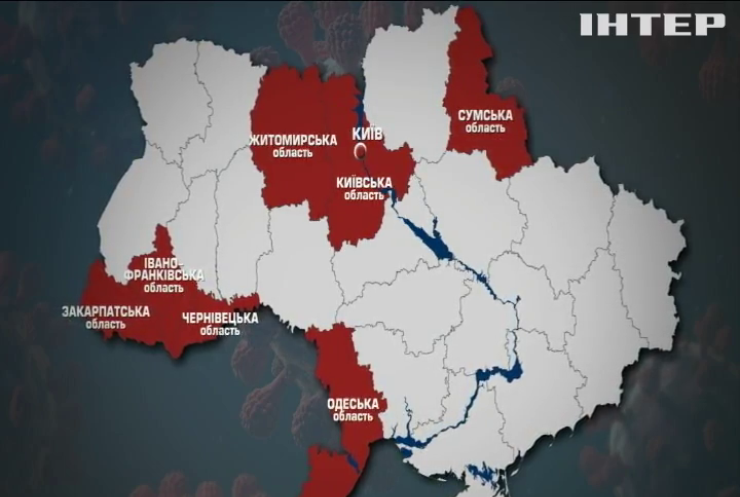 """COVID-19 в Україні: Київщина та Сумщина """"почервоніли"""""""