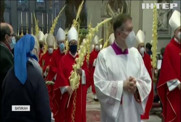 У Ватикані християни західного обряду відзначили Вербну неділю