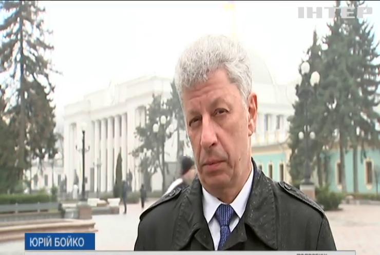 Перемир'я на Донбасі, кредити МВФ та пенсійна реформа: Юрій Бойко прокоментував соціально-політичну ситуацію в Україні