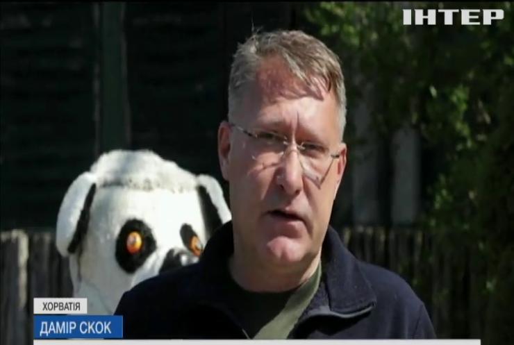 Великдень для всіх: мешканців зоопарку Загреба пригостили святковим частуванням