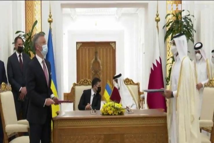 Україна та Катар узгодили умови взаємовигідної співпраці - Володимир Зеленський