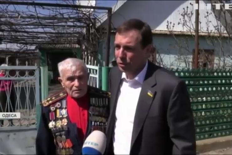 """В Одесі за підтримки """"Опозиційної платформи - За життя"""" відсвяткували День звільнення від німецьких окупантів"""