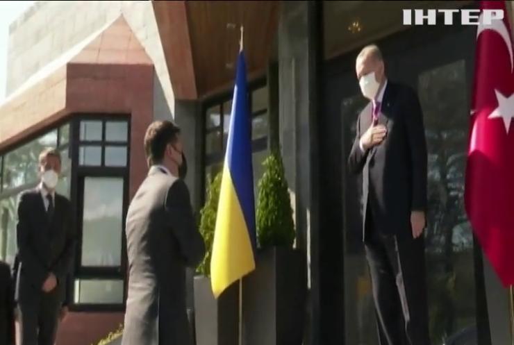 Володимир Зеленський прибув з офіційним візитом до Туреччини